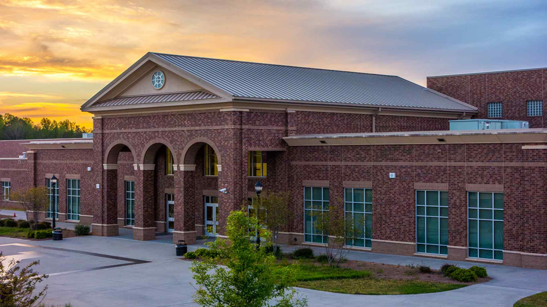 Outside of A School-School Cleaning-Commercial Cleaning Greensboro High Point NC-True Clean Experience-2307 West Cone Blvd Suite G, Greensboro NC 27408-